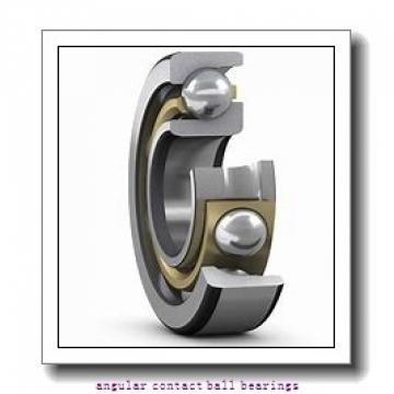 0.591 Inch   15 Millimeter x 1.654 Inch   42 Millimeter x 0.748 Inch   19 Millimeter  EBC 5302 2RS  Angular Contact Ball Bearings