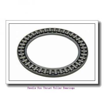 0.438 Inch | 11.125 Millimeter x 0.625 Inch | 15.875 Millimeter x 0.5 Inch | 12.7 Millimeter  KOYO M-781  Needle Non Thrust Roller Bearings