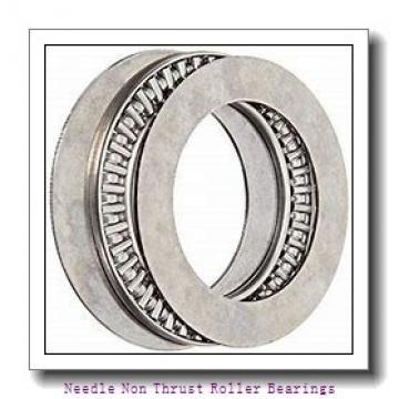 0.688 Inch | 17.475 Millimeter x 0.875 Inch | 22.225 Millimeter x 0.75 Inch | 19.05 Millimeter  KOYO M-11121  Needle Non Thrust Roller Bearings